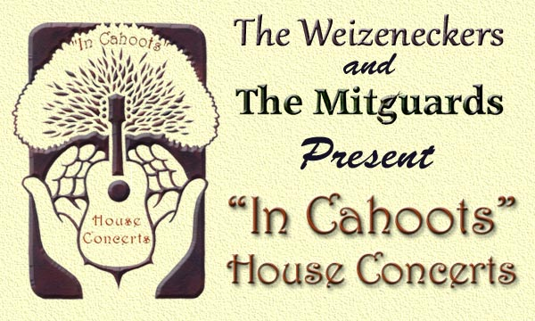 """In Cahoots"" House Concerts"