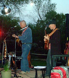 Don Richmond And Don Conoscenti At Weizenecker House Concerts